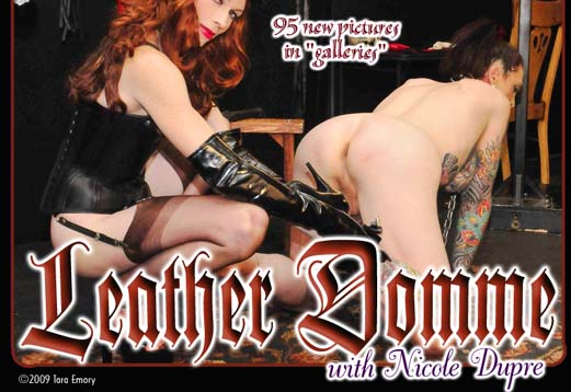 Tara Emory Leather Domme Nicole Dupree